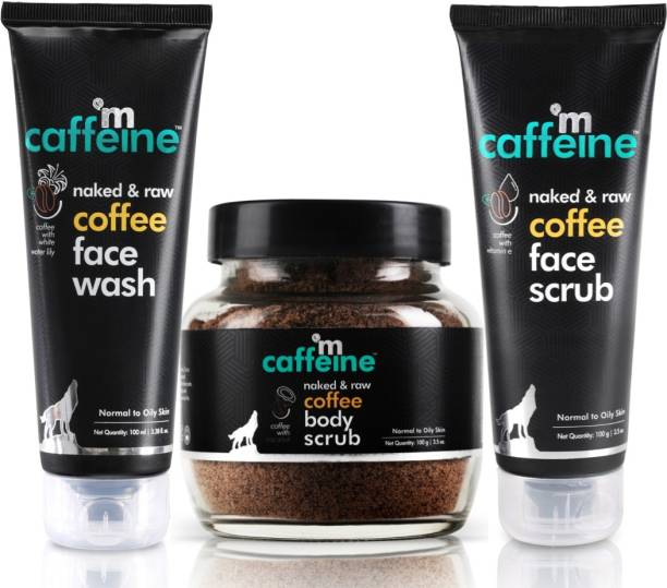 MCaffeine Complete Coffee Skin Care Combo