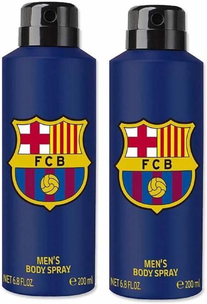 FC Barcelona Blue Combo Deodorant Spray Deodorant Spray  -  For Men