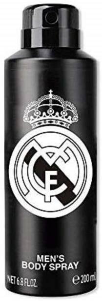 Real Madrid Body Spray Perfume for Men Deodorant Spray  -  For Men