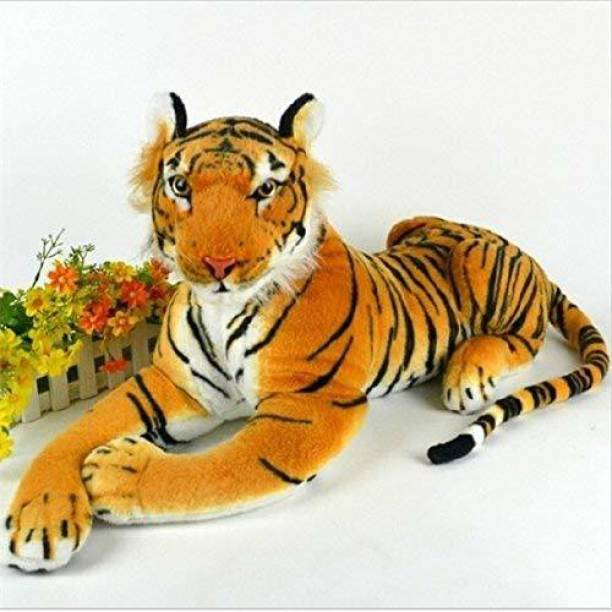 R K GIFT GALLERY Multi Color Tiger Set for The Kids  - 12 inch