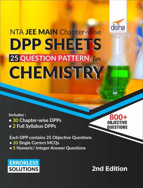 Nta Jee Main Chapter-Wise Dpp Sheets (25 Questions Pattern) for Chemistry
