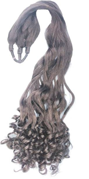 Shining Angel Nylon  Extension, 30 Inches Curly Hair Extension
