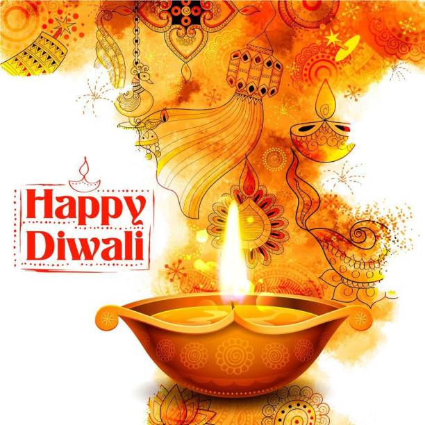happy diwali a |festival poster|diwali poster|poster for diwali|diya poster|dia poster|rangoli poster|poster for home,gym,office||sticker paper poster Paper Print