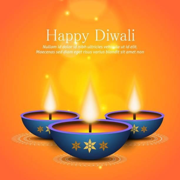 diwali flower rangoli Sticker Poster|Diwali Poster|Festival Poster Paper Print