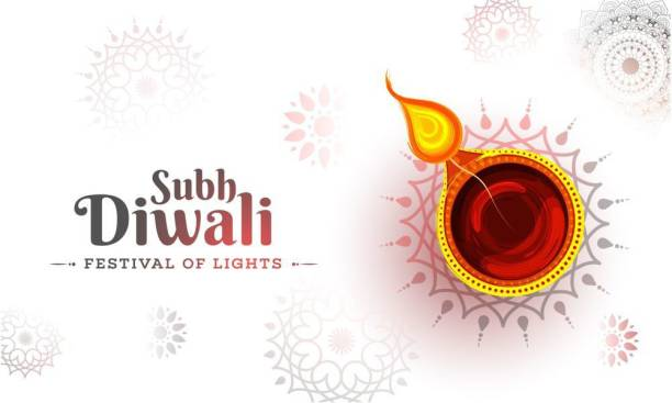 subh diwali |festival poster|diwali poster|poster for diwali|diya poster|dia poster|rangoli poster|poster for home,gym,office|12x18 inch|sticker paper poster Paper Print