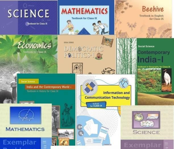 NCERT Complete Books Set + Exemplars For Class -9 (English Medium)