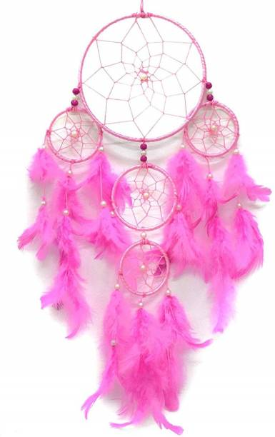 GW Creations Wall Hanging Circus Dream Catcher Feather Dream Catcher