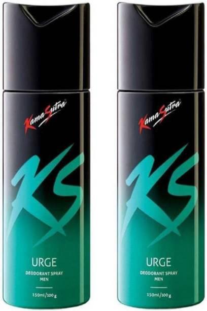 Kamasutra 2URGE Body Spray  -  For Men & Women