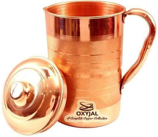 Oxyjal 2 L Water Copper Jug With Ayurvedic benifits Jug