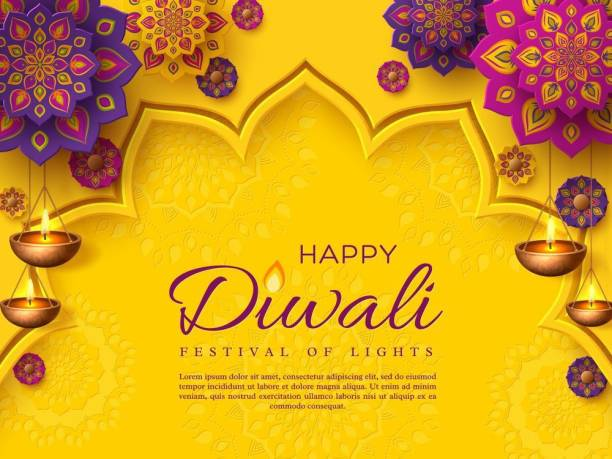 indian rangoli with diwali |festival poster|diwali poster|poster for diwali|diya poster|dia poster|rangoli poster|poster for home,gym,office|12x18 inch|sticker paper poster Paper Print