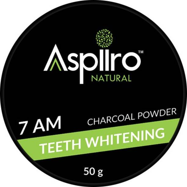 Aspiiro Natural Activated Charcoal Tooth Powder For Instant Teeth Whitening Powder