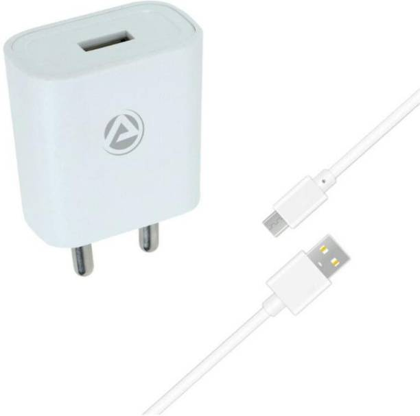 ARU AR-155 2.1A Single Port 10 W 2 A Mobile Charger with Detachable Cable