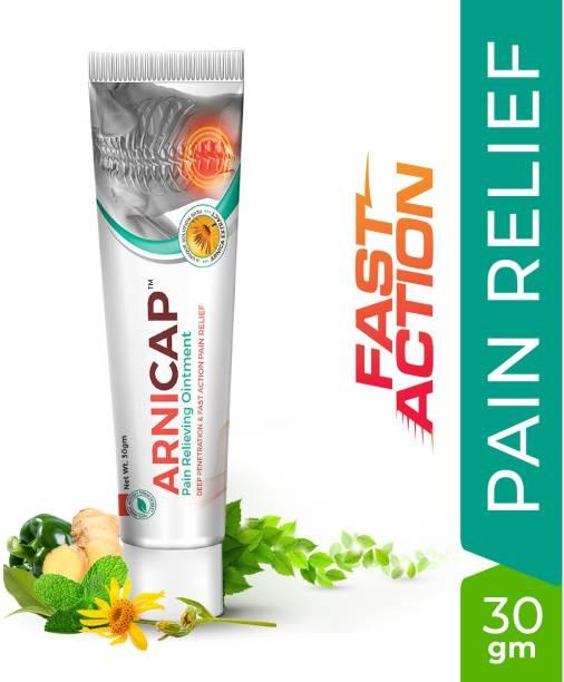 GREEN CURE ArniCap Pain Relieving Cream Premium Ayurvedic Herbal Cream