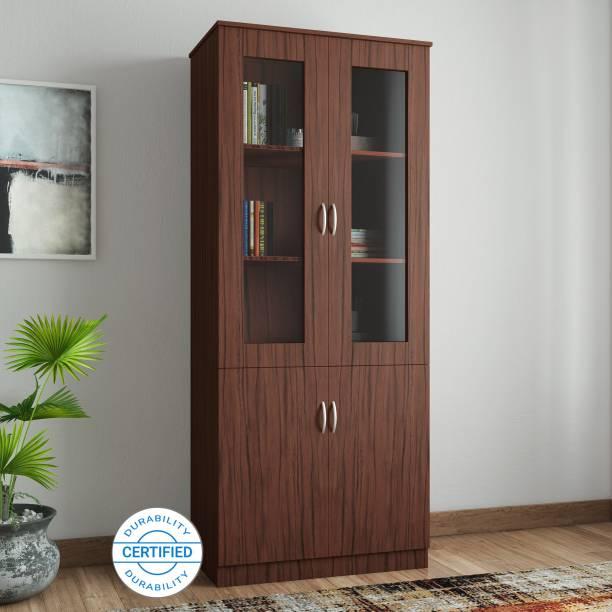 Crystal Furnitech Engineered Wood Close Book Shelf