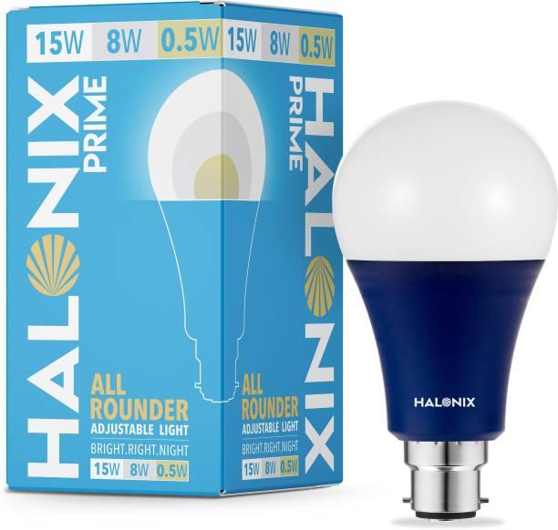 HALONIX 15 W, 8 W, 0.5 W Round B22 LED Bulb