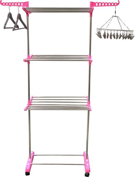 TNC Steel Floor Cloth Dryer Stand 10004