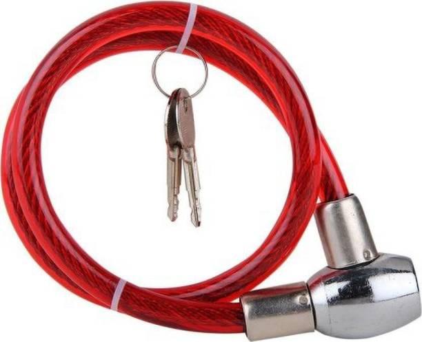 JCTEK Brass Cable Lock For Helmet