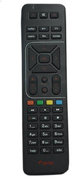 Airtel Airtel Universal Remote Universal Remote with battery Airtel Remote Controller