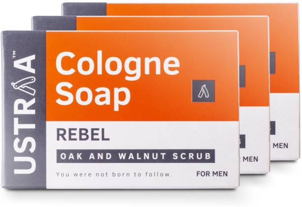 USTRAA Rebel Cologne Soap with Oak & Walnut