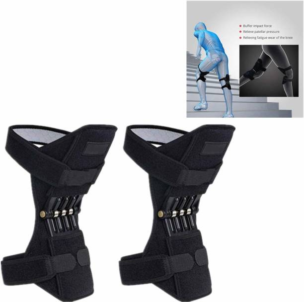 Wonder World ™ 1 Pair Knee Stabilizer Pad - Knee Protector Booster Knee Support
