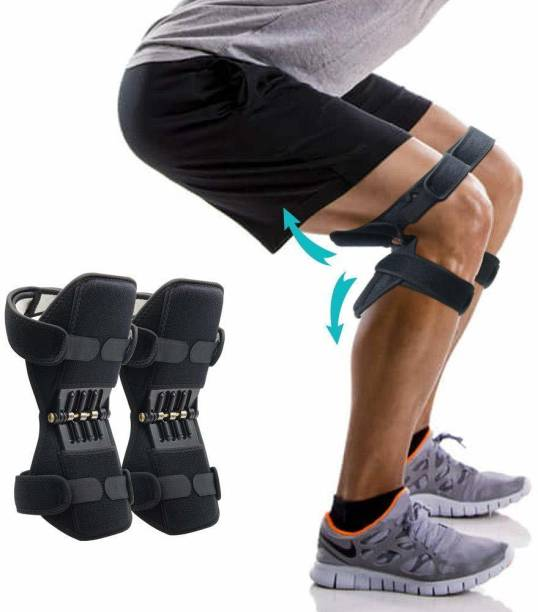Wonder World ™ Muscle Recovery Spring Knee Pad Deep Care Booster Compression Knee Support