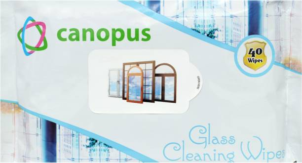 Canopus Glass Cleaning Wipes