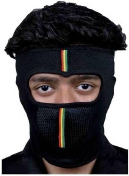 faisna Multicolor Bike Face Mask for Men & Women
