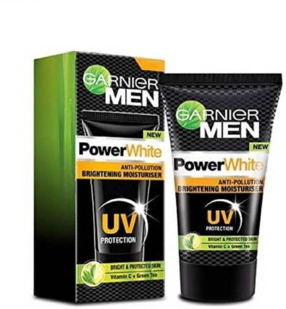 GARNIER Men Power White Fairness Moisturiser 40g pack of 2