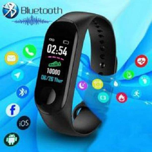 dolevas M3 Smart Band With Heart Rate Sensor Fitness Band