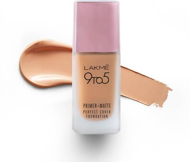 Lakmé 9To5 Primer + Matte Perfect Cover  Foundation