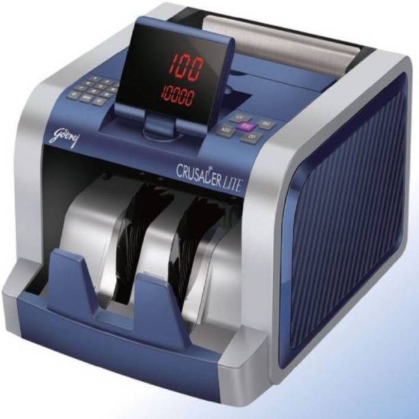 SWAGGERS Crusader lite note counting machine with fake note detector Note Counting Machine