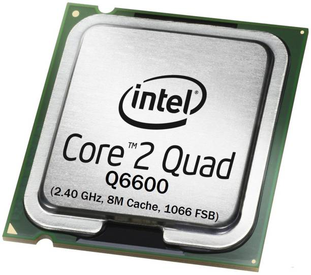 Intel Quad Core Q6600 2.4 GHz LGA 775 Socket 4 Cores 4 Threads Desktop Processor