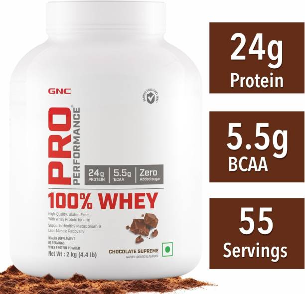 GNC Pro Performance 100% Whey Protein