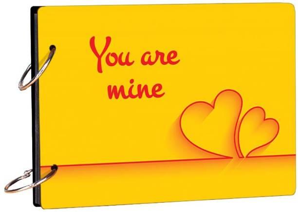 100yellow You Are Mine Theme,  Scrapbook Kit