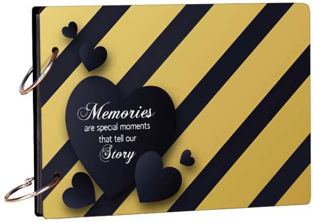 100yellow Memories Theme,  Scrapbook Kit