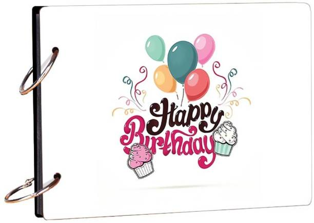 100yellow Happy Birthday Colorfull Theme,  Scrapbook Kit