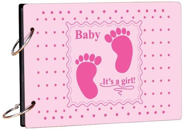 100yellow Baby It's a Girl Theme,  Scrapbook Kit