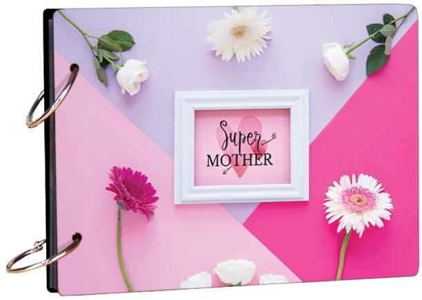 100yellow Super Mother Theme,  Scrapbook Kit
