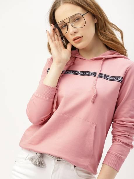 Dressberry Full Sleeve Solid Women Sweatshirt