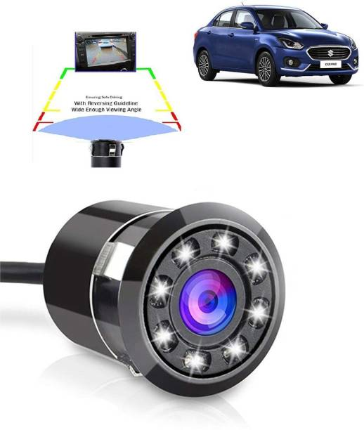 CARZEX waterpoof metal camera LED Night Vision Waterproof Car Rear View Reverse Parking HD Camera Vehicle Camera System
