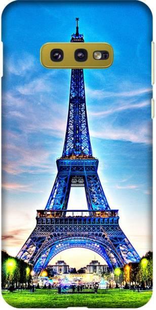 CASEMANTRA Back Cover for Samsung Galaxy S10e (SM-G970) - effile tower Print