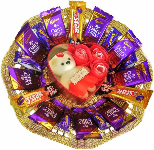 FestivalsBazar Premium Chocolate Gift Hamper For Any Occasion Combo