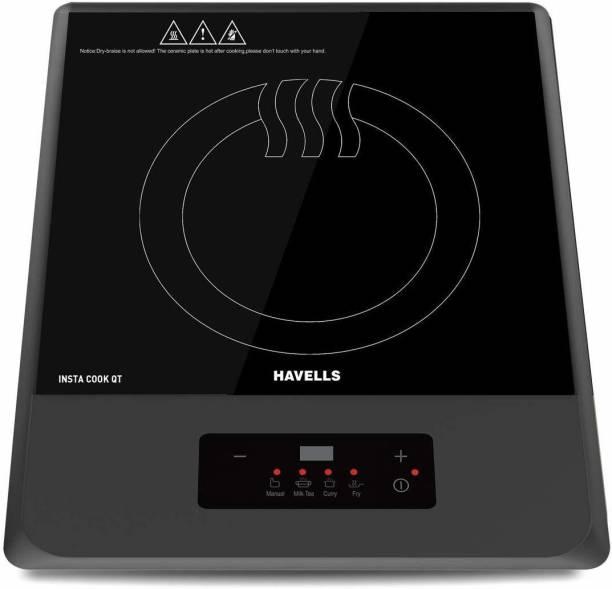 HAVELLS QT GREY 1200 WATT Induction Cooktop