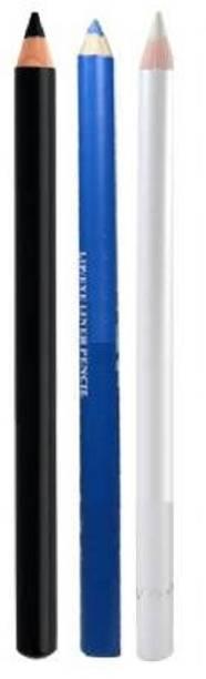 tanvi27 Professional Colorful Kajal/Eyeliner Pencil Kajal