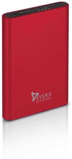 Syska 5000 mAh Power Bank