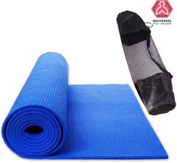 Quick Shel BLUE 6MM 009 Blue 6 mm Yoga Mat