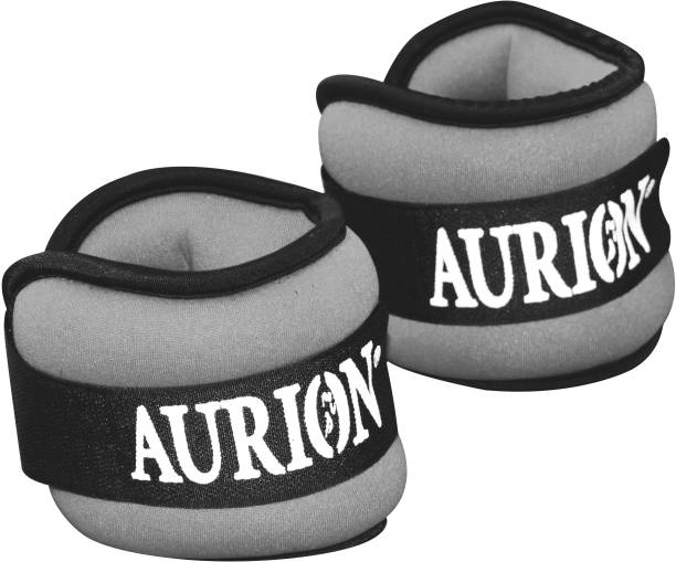 Aurion Nee Ankle Weights ProQuality Adjustable Grey Ankle & Wrist Weight
