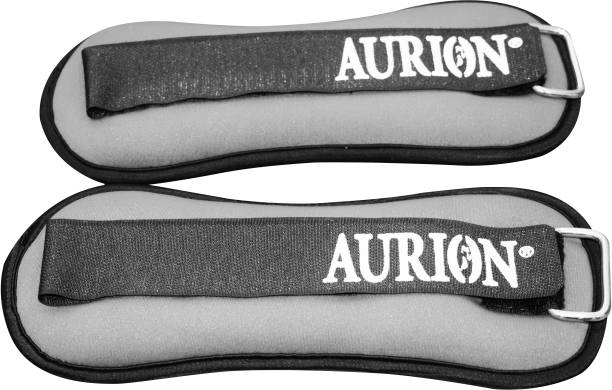 Aurion Neoprene Ankle Quality Adjustable Grey Ankle & Wrist Weight