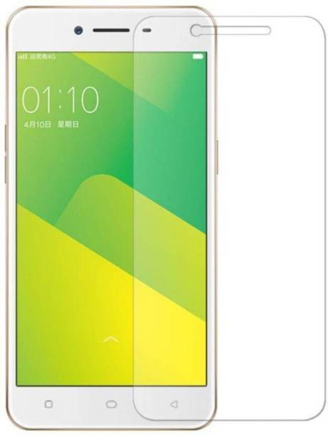 EASYBIZZ Tempered Glass Guard for Oppo A37, Oppo A37f