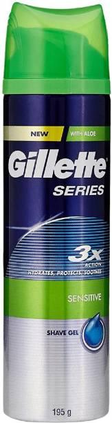 GILLETTE Sensitive Skin Pre Shave Gel - 195 g